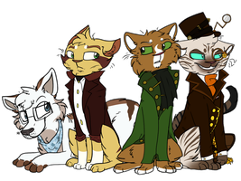 Steampunk chronicles by CandyGearz