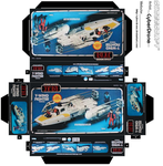 Mini Y-Wing Fighter Toy Box by CyberDrone