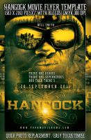 PSD Hancock Movie Poster by retinathemes