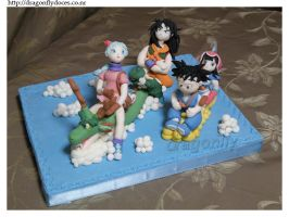 Dragon Ball Sugar figures by dragonflydoces