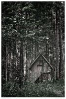 Abandoned Hut by AndreasResch
