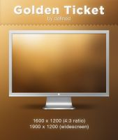 Golden Ticket Minimal WP by DeFined04