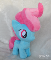 Mrs. Cake filly plush by PinkuArt