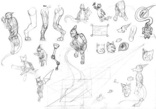 Sketch Dump 1-2014 by Kirona