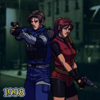1998 - Biohazard 2 by Jiggeh