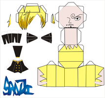 sanji new world pattern by Grim-paper