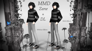 MMD Zane Model + DL from Aphmau's 'My Street' by KittenTube
