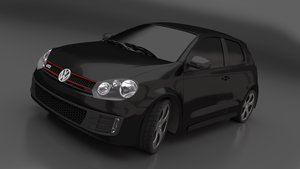 2011 Golf GTI - Final Render 1 by MeshWeaver