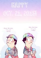 Back To The Future celebration on burgerblog by AKHTS
