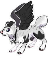 winged dog adopt CLOSED by Lytschi