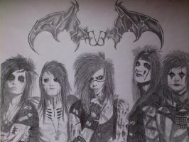 Black Veil Brides by LineVenie