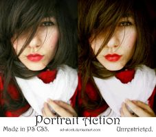 Portrait Action by sd-stock