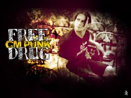 CM PUNK by Elowd