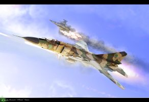 F-16 DOWN by ABiator