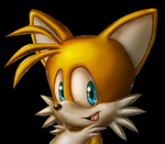 Tails Shading test by Lord-Kiyo
