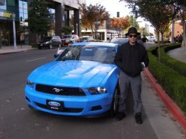 I got to Test drive a Mustang by Jetster1