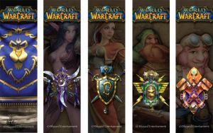 WoW Bookmarks, Alliance by sdquanrud