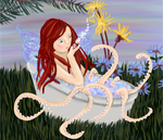 Fairy with Octopus Legs by shellfish101