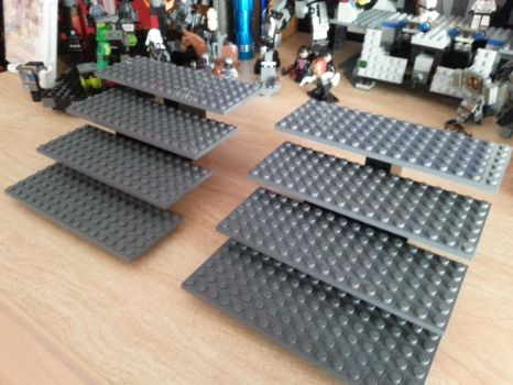 LEGO Minifigures Display Stands by GCWarri0r