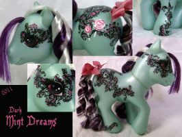 Dark Candy Cane Mint Dreams by DarlingV