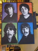 The Beatles Finished by XavierJonesArt