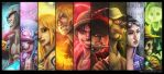 StrawHat Pirates by ElkhanArt
