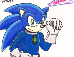 Old Sonic by Sonytheheroine