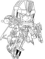 Chibi Vector Prime - WIP 2 by Autobot-Windracer