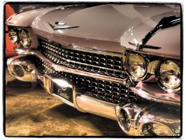 Pink Cadillac 1959 by Jhale66