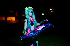 Sona Arcade League of legends by Alexamadden