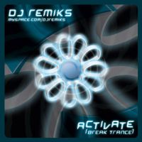 "DJREMIKS ""Activate"" cd cover by shark-graphic"