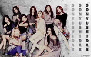 SNSD Real Baby G Wallpaper by Rizzie23