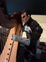 Close Up of my mini Punisher Figure. by OwossoHarpist
