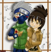 + Kakashi and Anko + by InoXShika