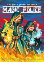 Yogscast - Magic Police by Nijuuni