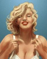 Marilyn Monroe by Ihasmin