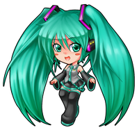 Chibi Miku by ZellaRoss