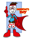 Underpants Boy by Cartoonray