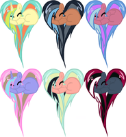 Heart Pony Adopts by MaddieAdopts