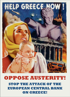 Help Greece Now! by poasterchild