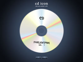 CD Icon by PaulEnsane
