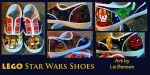 LEGO Star Wars Shoes by soccercat4685