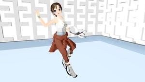 -MMD- Chell DL by MariMariD