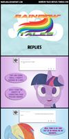 Rainbow Tales Replies: Mistaken Personas by Narflarg