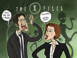 X-FILES: Nothing Unusual by sparkyHERO
