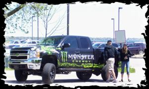 What a Monster Truck by DDRMixer