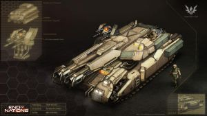 Ares Tank Concept by MikeDoscher