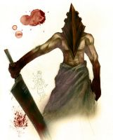 Silent Hill:RED PYRAMID THING by SONTYOU