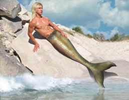 Merman Part 12 by seawaterwitch