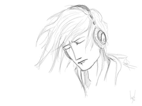 Music In My Head Sketch by IQTO